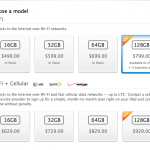 New 128GB iPad With Retina Display Now Available At Apple Online Store