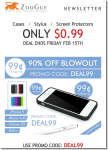 ZooGue Offering iPhone Accessories At 90 Percent Off The Normal Price