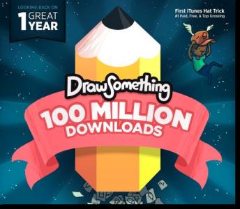 Zynga's Draw Something Celebrates A Birthday