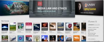 Apple's iTunes U Education Service Reaches A Billion Downloads