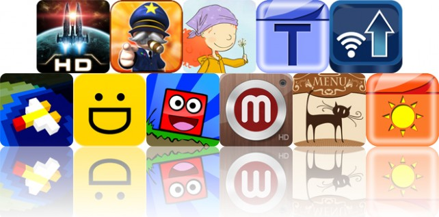Today's Apps Gone Free: Galaxy On Fire 2 HD, Great Big War Game, Go There Square And More