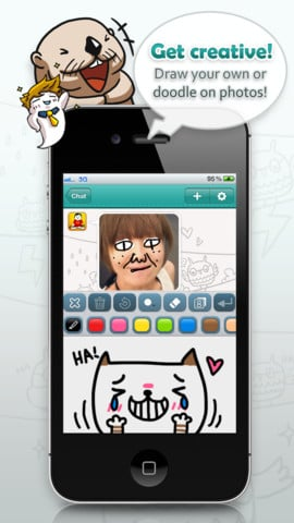 WhatsApp Plus Draw Something Plus Snapchat Equals Cubie Messenger