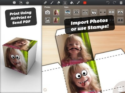 Fun Papercraft App Foldify Adds Photo Import, Valentine's Day Template And More