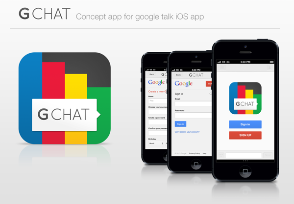 This Could Be The Google Talk iOS App We've Been Waiting For