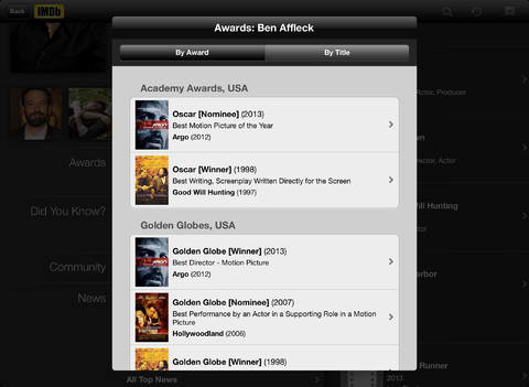IMDb Movies & TV Updated With Amazon Instant Video Integration And More