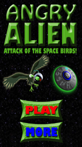 Quirky App Of The Day: Angry Alien: Attack Of The Space Birds
