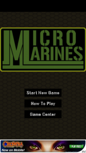 Quirky App Of The Day: Micro Marines Are Semper Fidelis In This Shooter Game