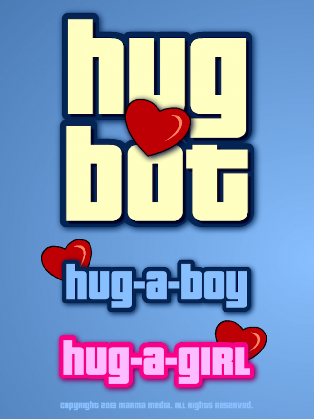 Quirky App Of The Day: HugBot Sends Hugs And Strange Mixed Signals