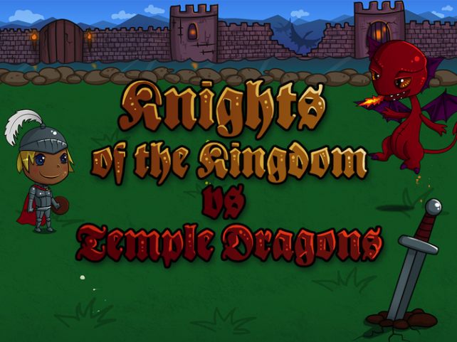Quirky App Of The Day: Knights Of The Kingdom Vs. Temple Dragons Is Here