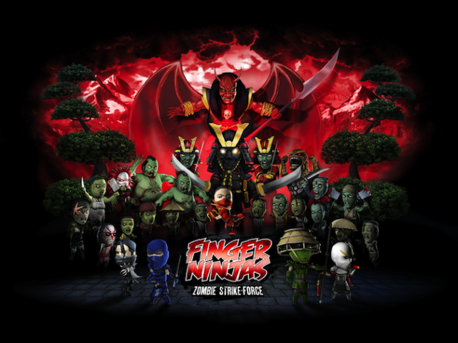 Quirky App Of The Day: Finger Ninjas: Zombie Strike-Force Brings Balance To The App
