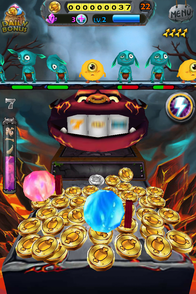 Kill Your Gambling Demons In Coin Blast:Monster