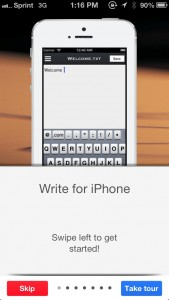 Write For Dropbox Is A Fresh New Way To Write On Your iPhone