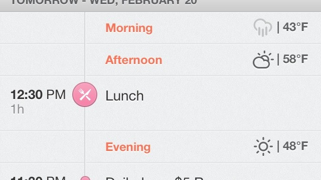 Start The Day With Sunrise Calendar, A Sleek App For Your Google Calendars