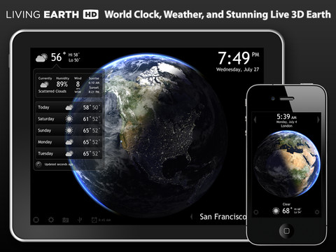 New Living Earth Update Brings iCloud Syncing, Improved Graphics And More