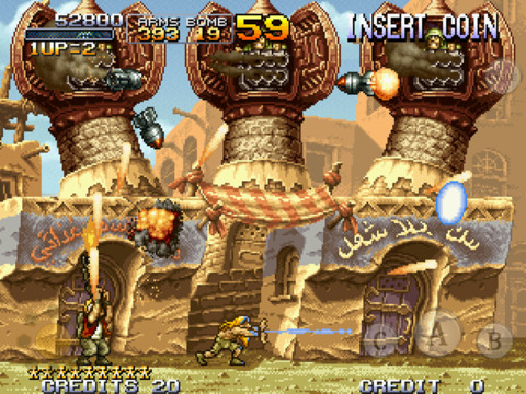 Metal Slug 2 Runs And Guns To The App Store With New Slugs, Weapons And More