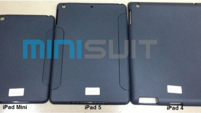 Purported iPad 5 Case Suggests Thinner Design Similar To iPad Mini