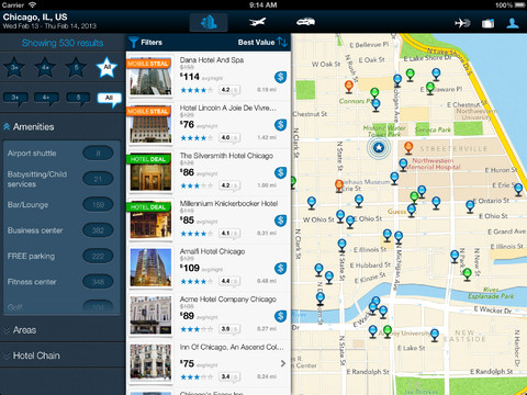 Orbitz Flights, Hotels, Cars Now Made Universal With Support For iPad