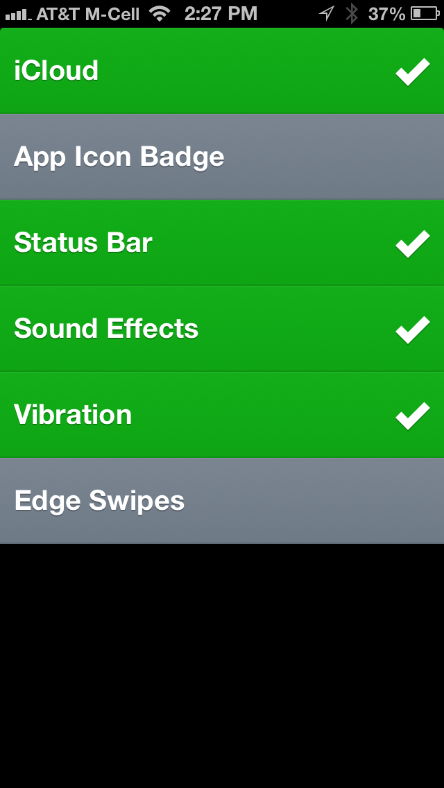 Clear Updated With Option To Switch Off Edge Swipes