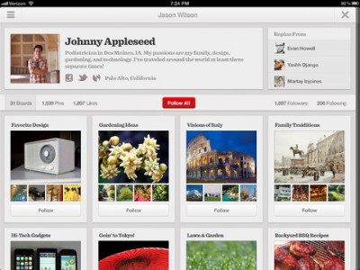 Pinterest For iOS Now Lets You Edit Pins And Manage Comments