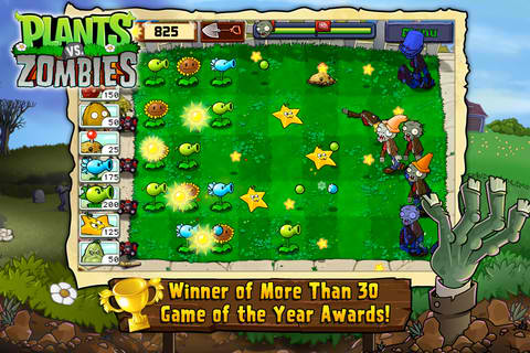Plants Vs. Zombies For iOS Available For Free For First Time Ever