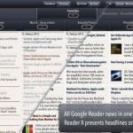 Innovative Google Reader App Reader X Reinvented With Version 2.0