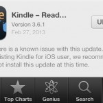 Updated: Latest Kindle For iOS Update Is Okay To Download