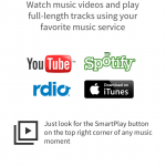 Now Playing: Improved Spotify, Rdio And YouTube Integration In SoundTracking