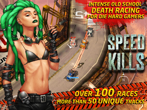 Speed Kills In This Action-Packed Unreal-Powered Race To The Death