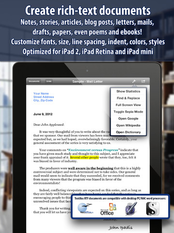 You Can Now Take Snapshots Of Your Documents In Rich-Text Editing App Textilus
