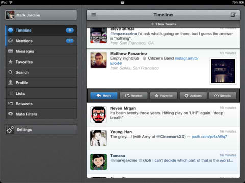 Tweetbot For iPhone, iPad And Mac Updated With New Twitter API Compliance And More