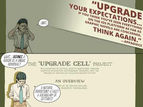 Sci-Fi Graphic Novel Upgrade Soul Goes Free Following Chapter 4 Release