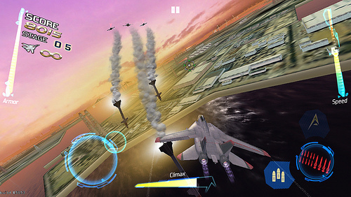 After Burner Climax Will Be Flying Onto iOS Devices