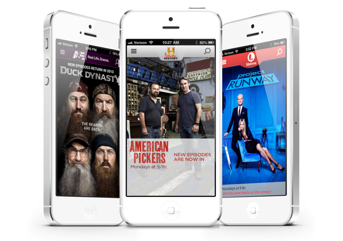 Three Popular Cable Television Channels Now Have iPhone Apps