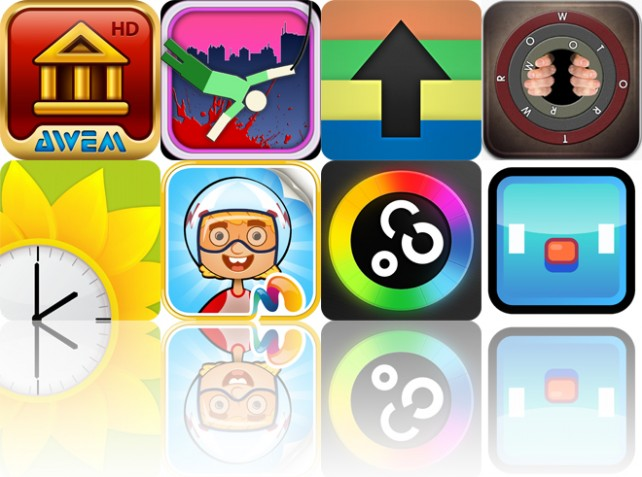 Today's Apps Gone Free: Cradle Of Rome, Hanger, Scrollit And More