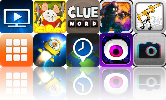 Today's Apps Gone Free: iMediaShare, From Cheese, Clue Word And More