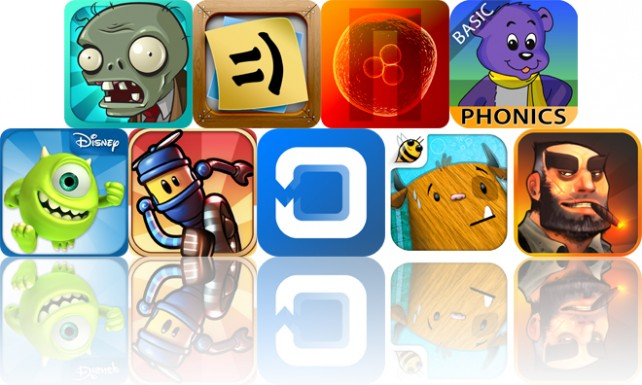 Today's Apps Gone Free: Plants Vs. Zombies, Stickyboard 2, Nuclien And More