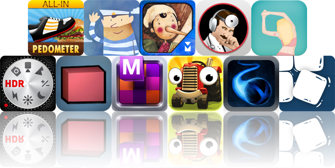 Today's Apps Gone Free: All-In Pedometer, Fiete, Pinocchio And More