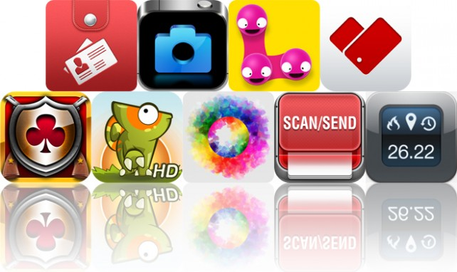 Today's Apps Gone Free: ABBYY CardHolder, Blux Camera, Link That Gugl And More