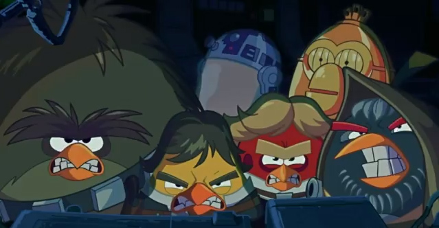Get Ready For Cartoons Featuring The Angry Birds