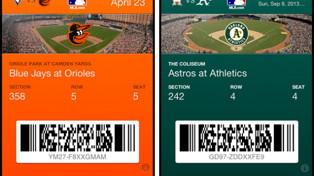 A Record Number Of MLB Stadiums To Accept Mobile Payments Via Passbook In '13