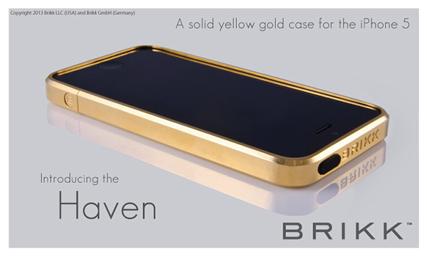 Show Everyone How Rich You Really Are With This Solid Gold iPhone 5 Case