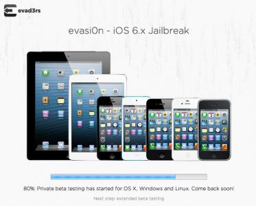 Now 80 Percent Complete, iOS 6.x Jailbreak Evasi0n Looks Set For Sunday Release