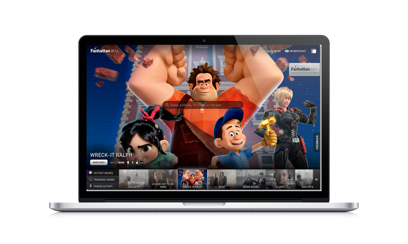 Updated: Fanhattan Movie And TV Show Discovery Service For iOS Jumps To Web