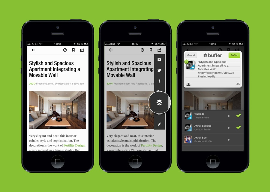 Feedly And Buffer Join Forces To Offer Improved Content Sharing