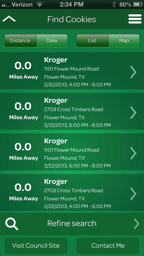 Use This Handy App To Track Down The Nearest Box Of Girl Scout Cookies