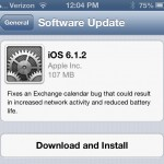 Apple Releases iOS 6.1.2 To Squash Exchange Calendar Bug