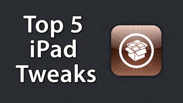 AppAdvice's Top Five Cydia Tweaks For The iPad