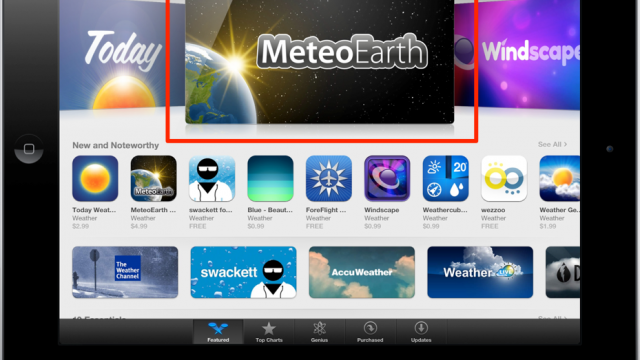 MeteoEarth For iPad: Should We Really Have To Pay For A Five Day Weather Forecast?