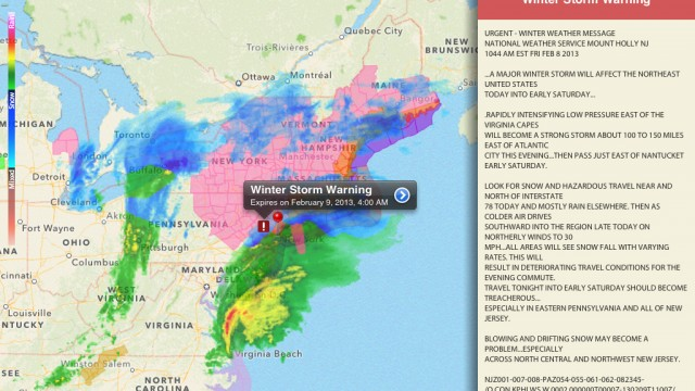Keep A Close Eye On Severe Weather By Winning A NOAA Radar Pro Promo Code