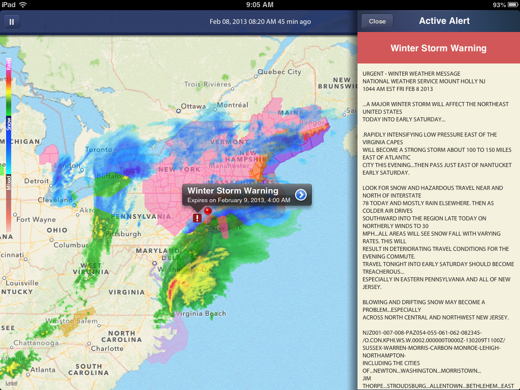 Keep A Close Eye On Severe Weather By Winning A NOAA Radar Pro Promo Code